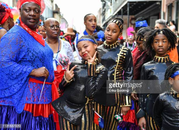 The second annual Krewe du Kanaval parade on February 22, 209 in New Orleans, Louisiana.
