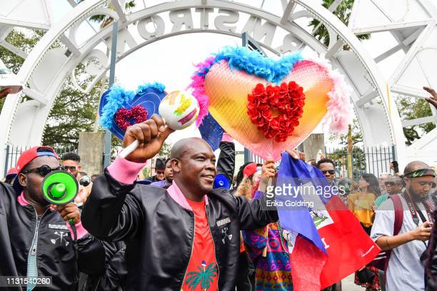 The second annual Krewe du Kanaval parade takes place on February 22, 209 in New Orleans, Louisiana.