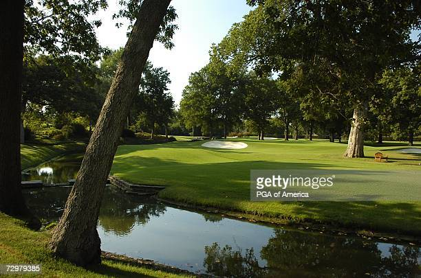 The second hole at Southern Hills Country Club, site of the 2007 PGA Championship on September 10, 2005 in Tulsa, Oklahoma.