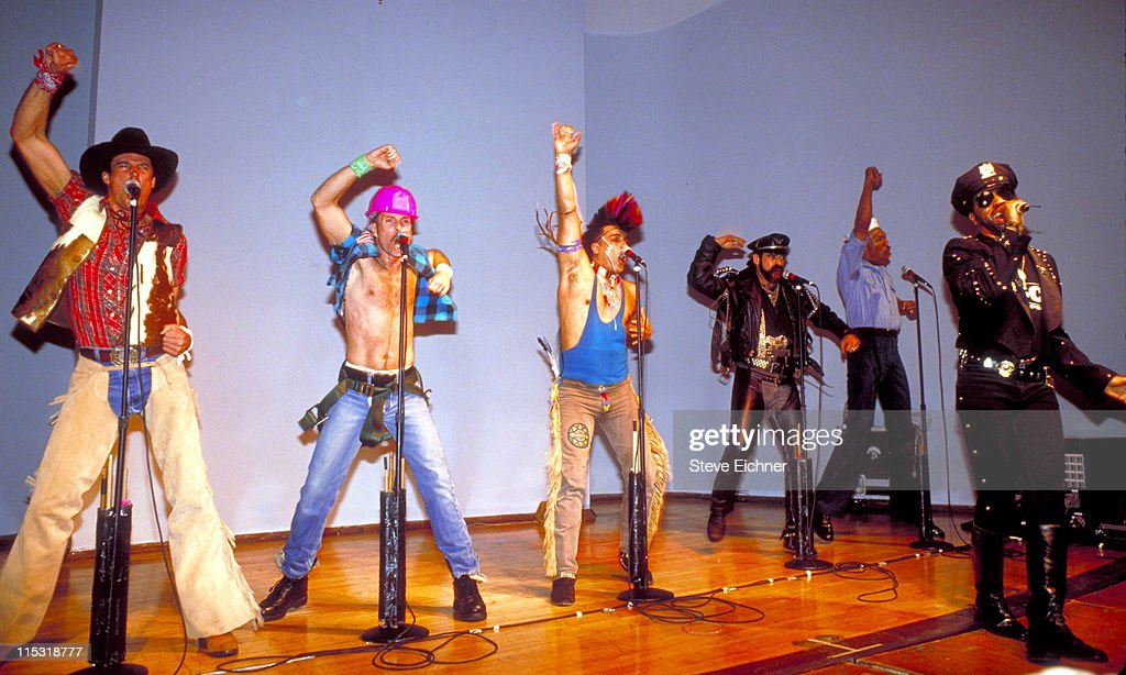 The Village People in Concert at NYU - 1991 : News Photo