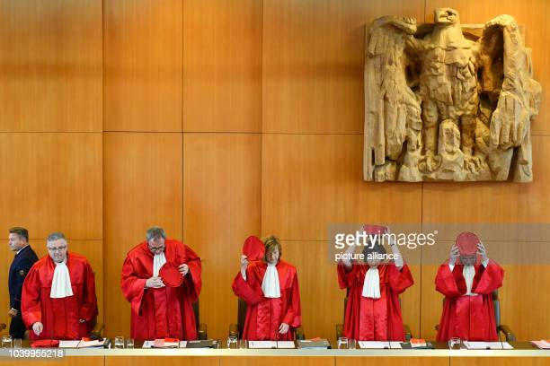 The second senate of the German Federal Constitutional Court Peter M Huber President Andreas Vosskuhle Monika Hermanns Sibylle KessalWulf and Ulrich...