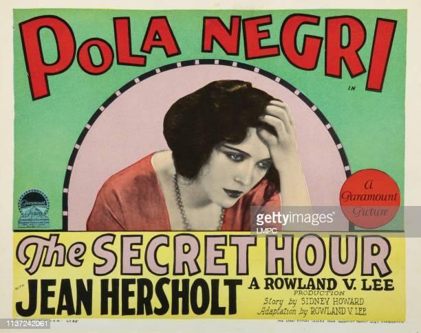 The Secret Hour lobbycard Pola Negri 1928