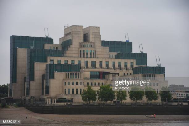The Secret Intelligence Service also known as MI6 headquarters building is pictured in London o August 23 2017 The Secret Intelligence Service...