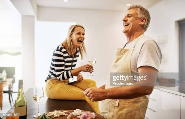 the secret is to never stop having fun - mature couple stock pictures, royalty-free photos & images