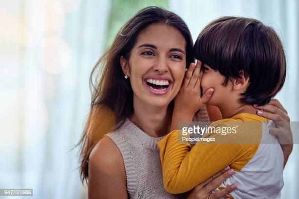 ママと息子だけが理解する秘密の言語