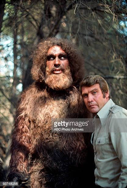 MAN The Secret of Bigfoot Part I Bionic Woman crossover Season Three 2/1/76 Steve encountered Bigfoot while setting up an earthquake warning system