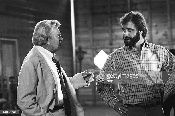 MATLOCK The Secret Part 1 Part 2 Episodes 6 7 Pictured Andy Griffith as Benjamin Matlock James McDonnell as Tom Hermanski Photo by Gary Null/NBCU...