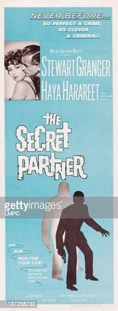 The Secret Partner poster insert US poster inset Haya Harareet Stewart Granger 1961