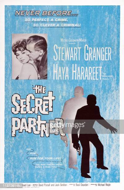 The Secret Partner poster US poster art inset Haya Harareet Stewart Granger 1961