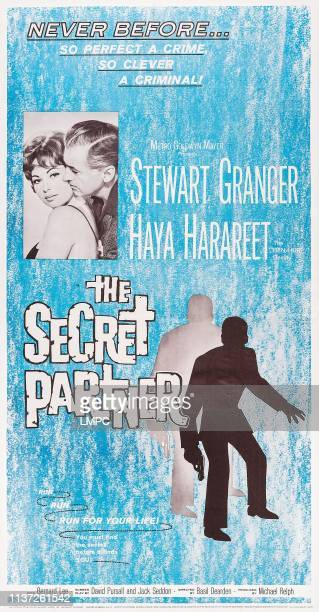 The Secret Partner poster US poster inset Haya Harareet Stewart Granger 1961