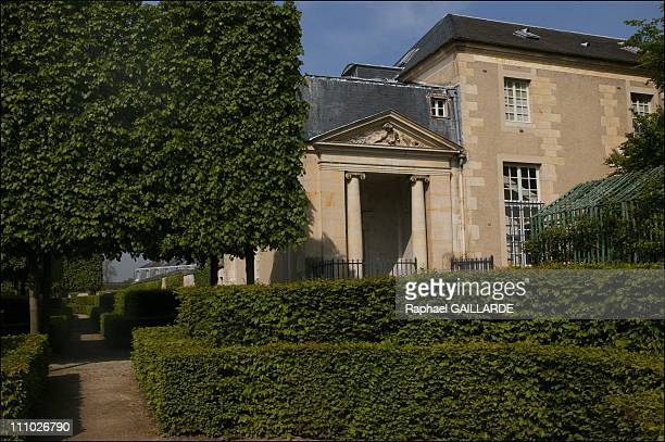 The Secret Realm of Marie Antoinette's Petit Trianon Entrance of the Queen's theatre built by Richard Mique was unveiled in 1780 MarieAntoinette...