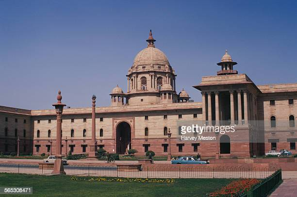 The Secretariat Building in New Delhi, Delhi, India, 1972.