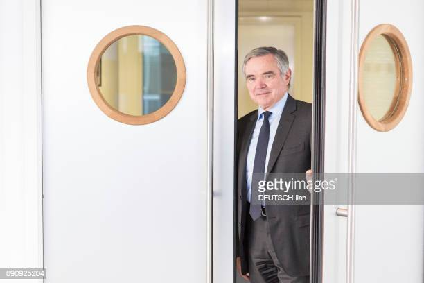 the Secretary General of the Republican Party Bernard Accoyer is photographed for Paris Match on november 29 2017 in Paris France
