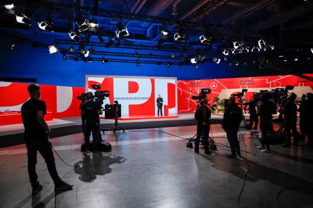 DEU: Social Democrats (SPD) Hold Virtual Party Congress