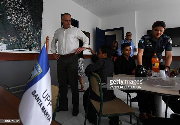 The security chief for the Brazilian state of Rio de Janeiro Jose Mariano Beltrame the architect of a controversial pacification plan for...
