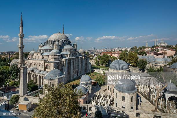 The Sehzade Mosque in Istanbul,Turkey