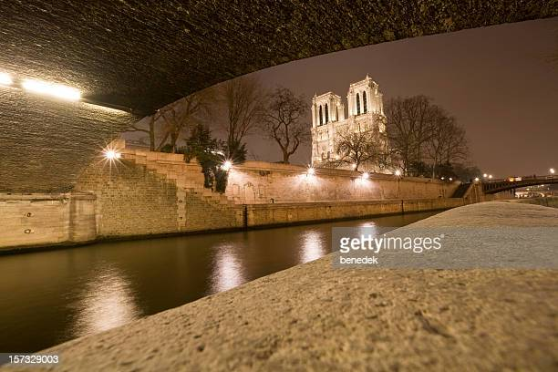 The Seine and Notre Dame in Paris