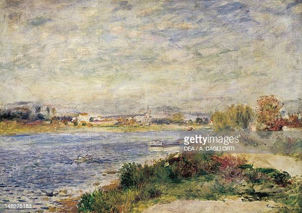 The Seine in Argenteuil by PierreAuguste Renoir Paris Musée D'Orsay