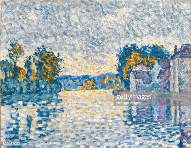 The Seine near Samois 1899 Found in the collection of Neue Pinakothek Munich