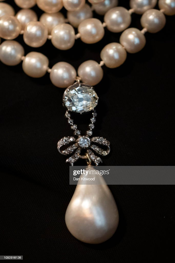 Preview Of Marie Antoinette's Jewels Ahead Of Sotheby's Sale : News Photo