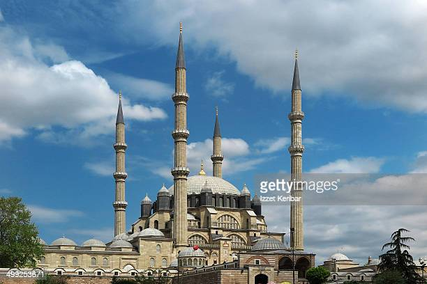 the selimiye mosque in edirne - selimiye mosque stock pictures, royalty-free photos & images