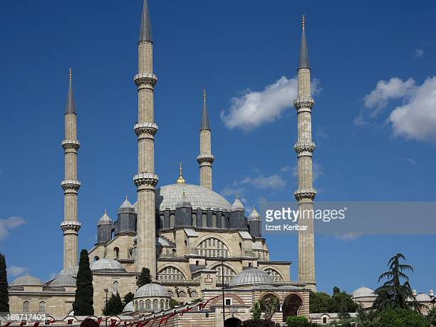 the selimiye mosque - selimiye mosque stock pictures, royalty-free photos & images