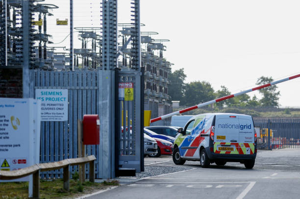GBR: National Grid Plc's IFA Interconnector Site After Fire Knocks Out Cable