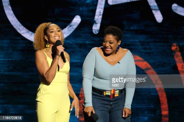 FUNNY The SemiFinal Showcase 2 Episode 109 Pictured Amanda Seales Tacarra Williams