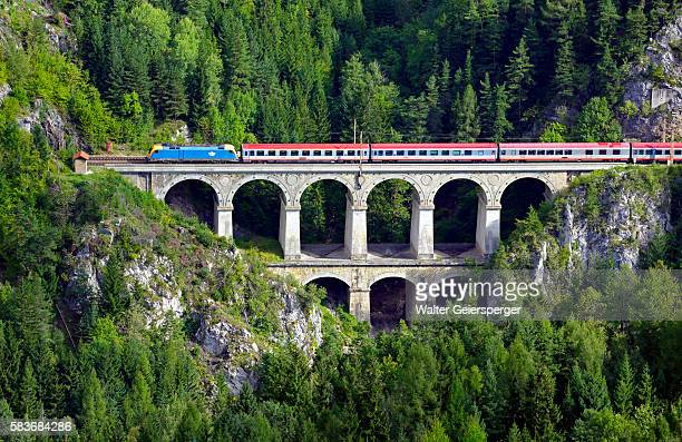 The Semmering Railway, Austria