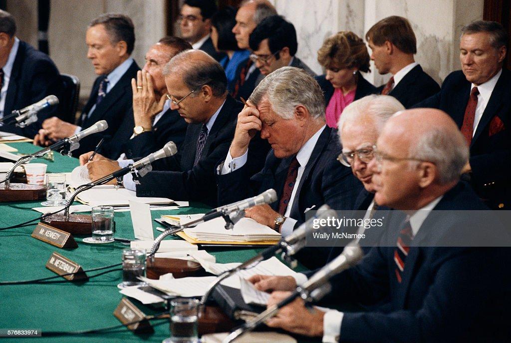 A Look Back at the Anita Hill & Clarence Thomas Hearings