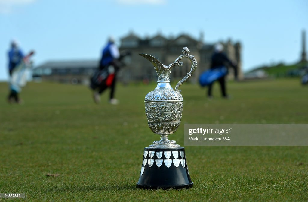 Senior Open Trophy on the Old Course