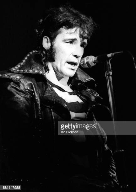 The Sensational Alex Harvey Band performing on stage at London Music Festival Alexandra Palace London 05 August 1973