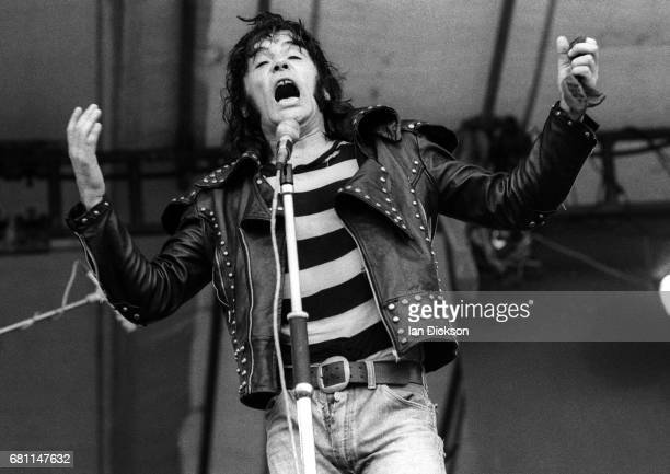 The Sensational Alex Harvey Band performing on stage at Reading Festival Reading United Kingdom 25 August 1973