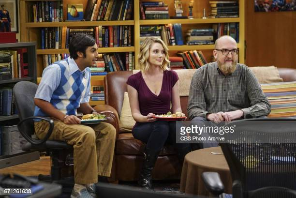 'The Separation Agitation' Pictured Rajesh Koothrappali April Bowlby and Brian Posehn Coverage of the CBS series THE BIG BANG THEORY scheduled to air...
