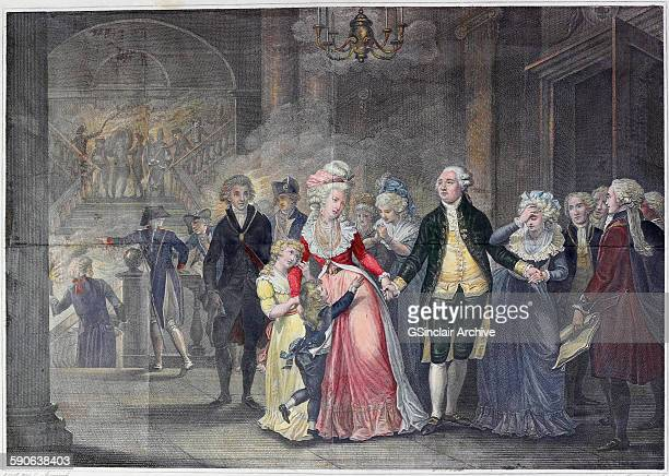 The Separation Of Louis XVI From His Family Night From 29th September 1792