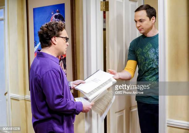 'The Separation Triangulation' Pictured Leonard Hofstadter and Sheldon Cooper Koothrappali finds himself in the middle of domestic drama when he...