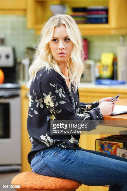 "The Separation Triangulation"" -- Pictured: Penny . Koothrappali finds himself in the middle of domestic drama when he learns the woman he's dating,..."