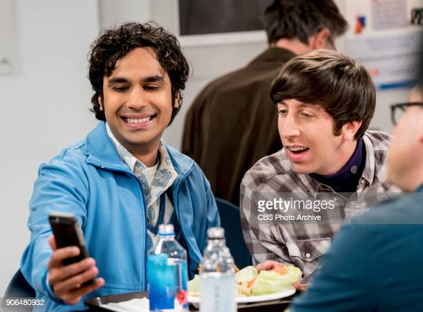 'The Separation Triangulation' Pictured Rajesh Koothrappali and Howard Wolowitz Koothrappali finds himself in the middle of domestic drama when he...