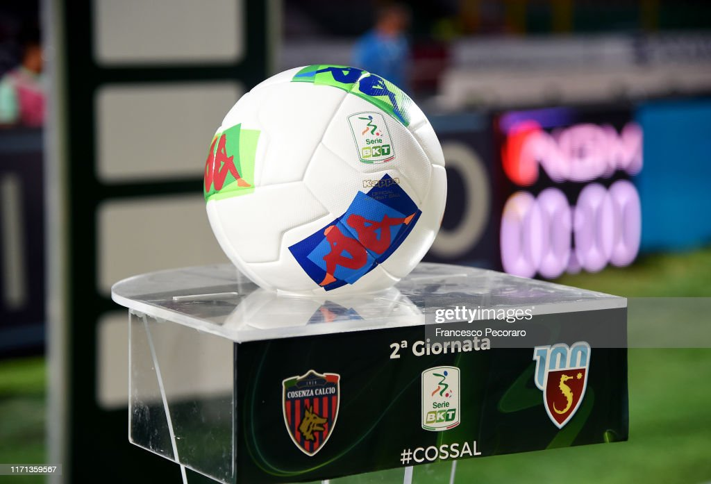 The Serie B Official Match Ball Before The Serie B Match Between News Photo Getty Images