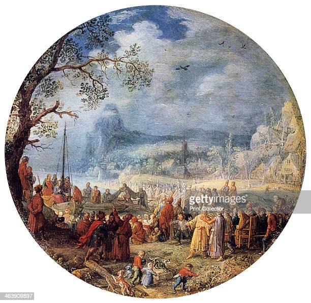 'The Sermon of Christ at the Genezareth Lake,' 1623.