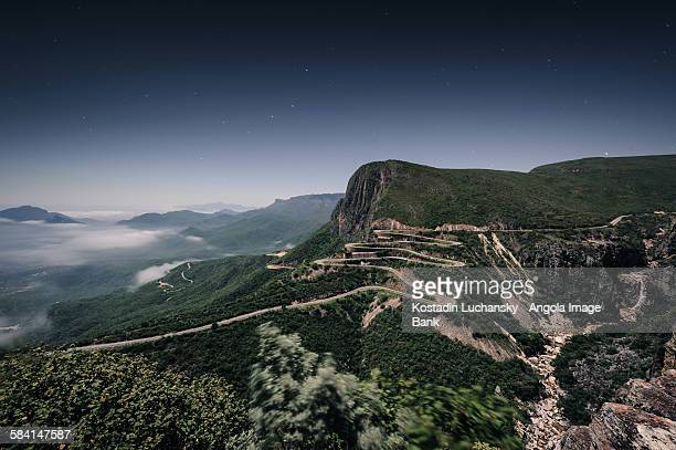 the serra da leba road in the province of huíla - angola stock pictures, royalty-free photos & images