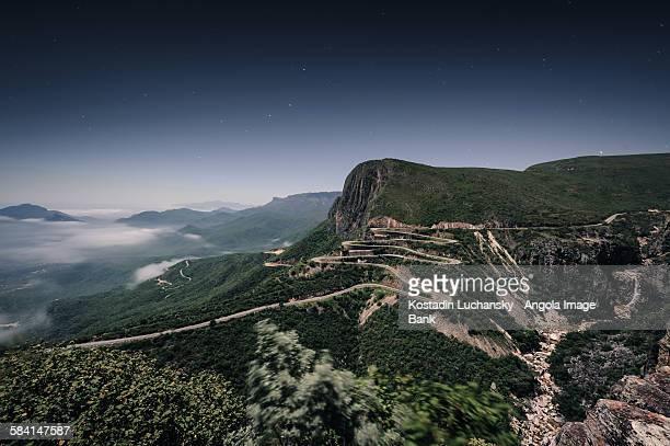 The Serra da Leba road in the province of Huíla