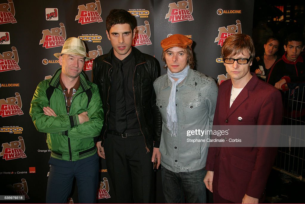The Servants attend the NRJ Cine Awards.