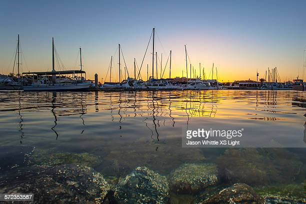 the setting behind the floating - porto lincoln - fotografias e filmes do acervo