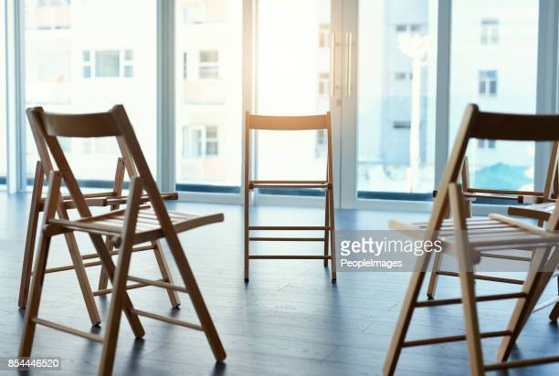 the setting where ideas come to life - chair stock pictures, royalty-free photos & images