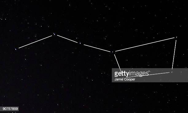 The seven brightest stars of the constellation Ursa Major the Great Bear form this wellknown asterism which is also known as the Big Dipper This...
