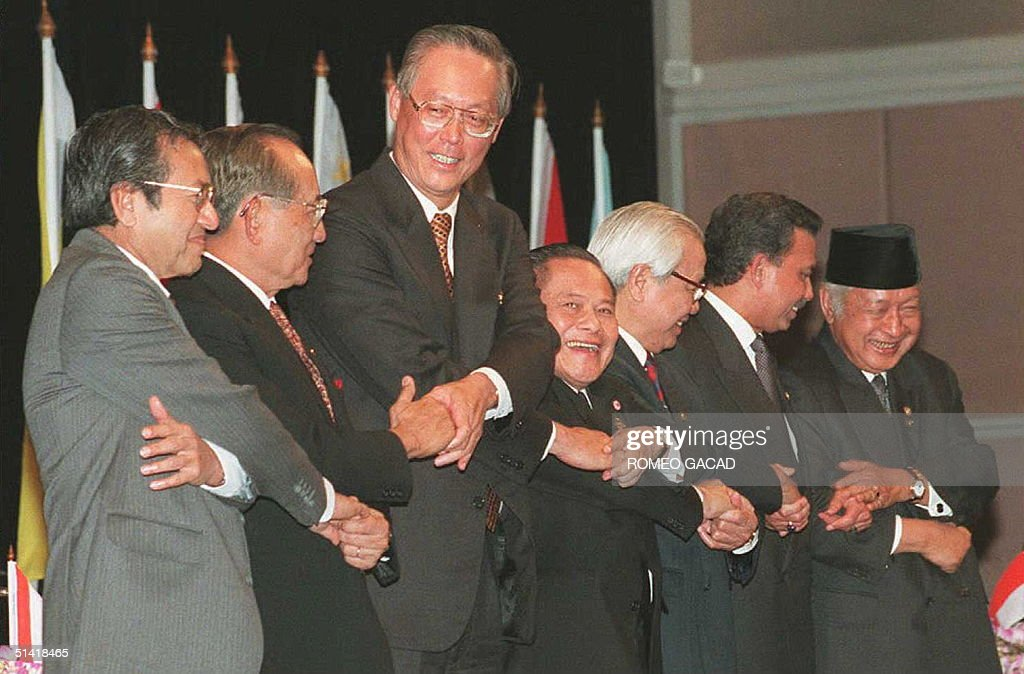 The seven leaders of the Association of Southeast : News Photo