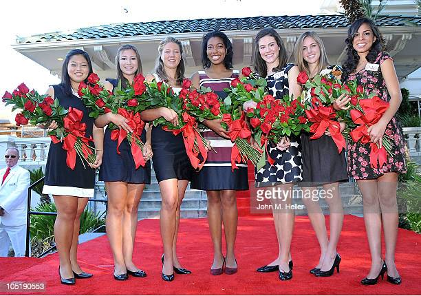 The seven members of the 2011 Tournament of Roses Royal Court Tenaya Miyoko Senzaki Jessica Michelle Montoya Sarah Christine Fredrickson Michelle...