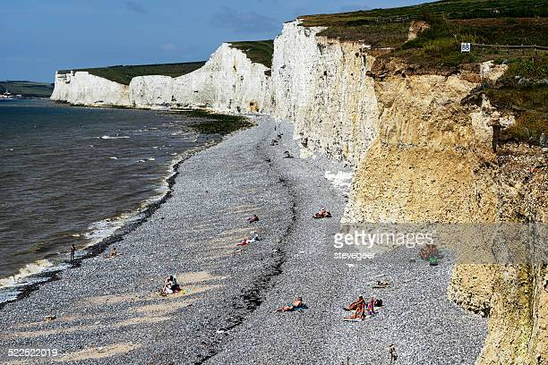 The Seven Sisters. Pebble  beach at Birling Gap