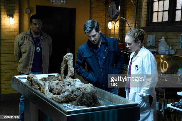 GRIMM The Seven Year Itch Episode 605 Pictured Russell Hornsby as Hank Griffin David Giuntoli as Nick Burkhardt Dana Millican as Bindra